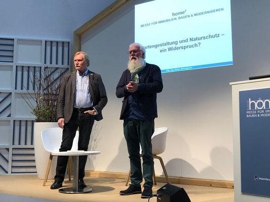 HOME² in Hamburg - Dipl.-Ing. Heiner Baumgarten spricht über Schottergärten und Naturschutz