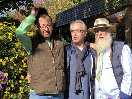 Foto: Petra Schweim: Matthias Schuh & Thorsten Barthels mit John