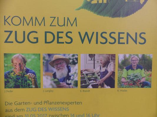 Zug des Wissens -  Fotos: Petra Schweim