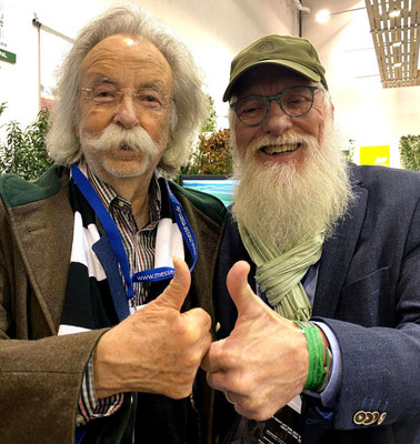 Foto: Petra Schweim - Jean Pütz Wissenschaftsjournalist & John Langley