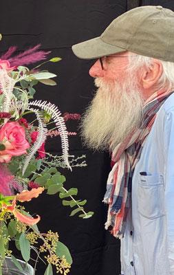 Fotoshooting im Namen der Rose mit John