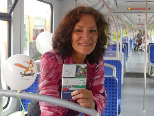 Zug des Wissens - Ina Heidemann (BuE) Foto Petra Schweim