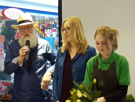 Fotos: Petra Schweim - Gartenbotschafter John Langley® im Herold-Center Norderstedt