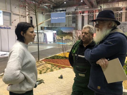 HOME² in Hamburg - Kim Krasowka (Landschaftsarchitektin) und Werner Schnauer (Garten- und Landschaftsbau