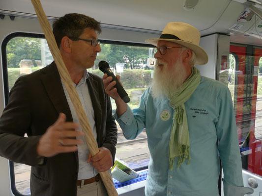 Zug des Wissens - Prof. Dr. Matthias Glaubrecht - Foto Petra Schweim