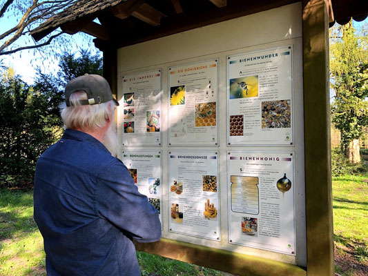 Arboretum Baumpark Ellerhoop - Thiensen - Gartenbotschafter John Langley® - Foto: Petra Schweim