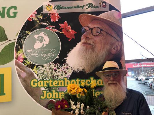 Frühlings-Festival in Halstenbek mit Gartenbotschafter John Langley®