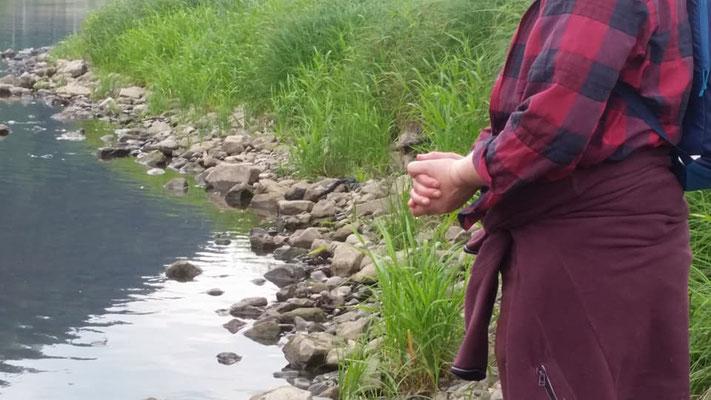 Petra Hinze Frauenwissen und Schamanismus: Reise ins Elbsandsteingebirge, Exkursion