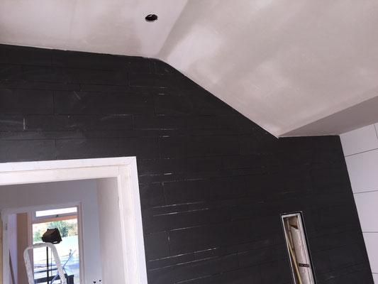 plafond klaar voor de schilder