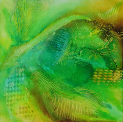40 x 40 | flowing colors II