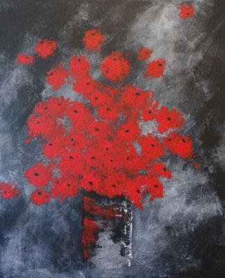 50 x 60 | bouquet de fleurs I