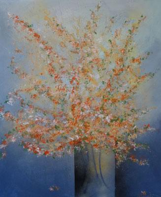 50 x 60   bouquet de fleurs II