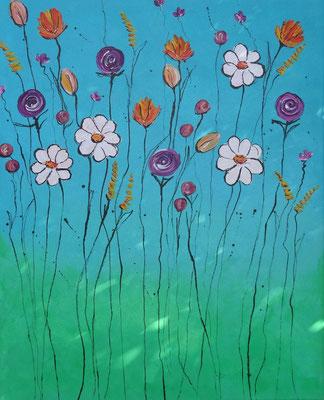 40 x 50   Blumenmeer I