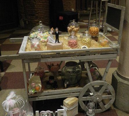 Ambiance gourmande sélectionné par La mariée en fleur pour ses dragées et autres gourmandises