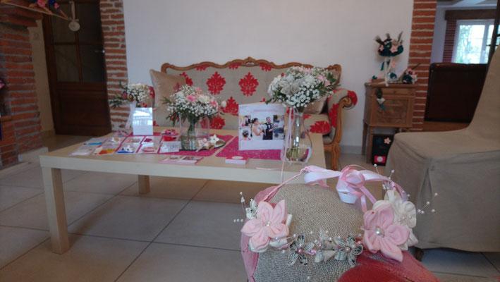 Décoration florale éco-responsable et un bouquet de mariée éternel à garder en souvenir pour un mariage sur mesure par Mon rêve fait main, en collaboration avec La mariée en fleur, bouquet et accessoires de mariage