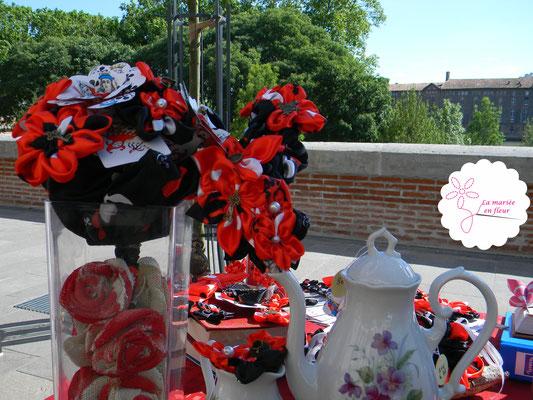 La mariée en fleur au marché des créateurs Fait Main 31_5 juin 2016_Toulouse