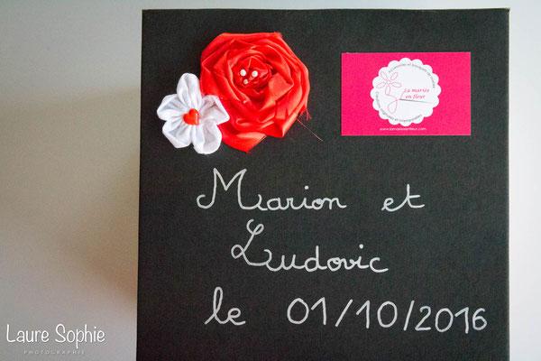 Packaging La mariée en fleur, bouquets de mariées originaux en fleurs en tissu