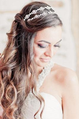 Maquillage mariée par Zenath'itude