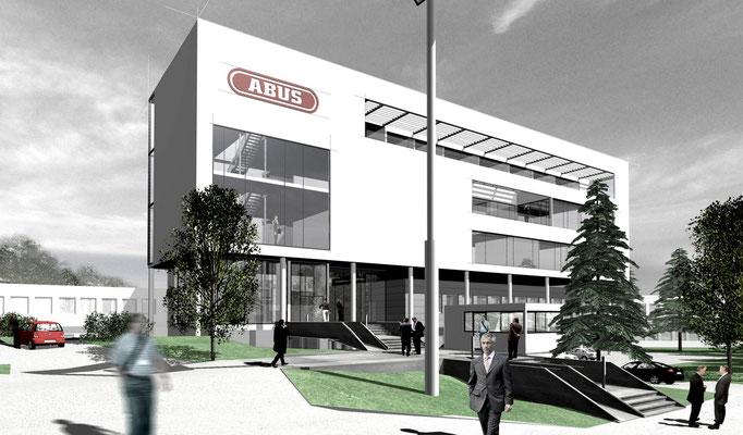 Büroerweiterung Firma ABUS