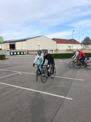 Athletics Leithaprodersdorf Rennrad Techniktraining 2019