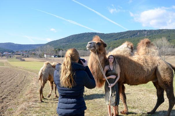 Anna Grünauer Kamele Österreich BTS