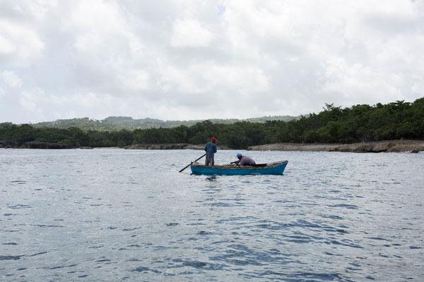 Kleines Fischerboot (Dominikanische Republik)