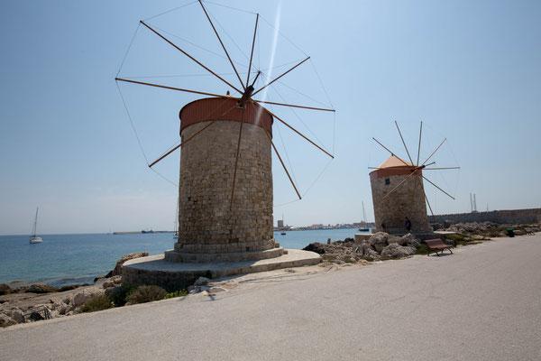 Hafen von Rhodos, photo: Anna Grünauer
