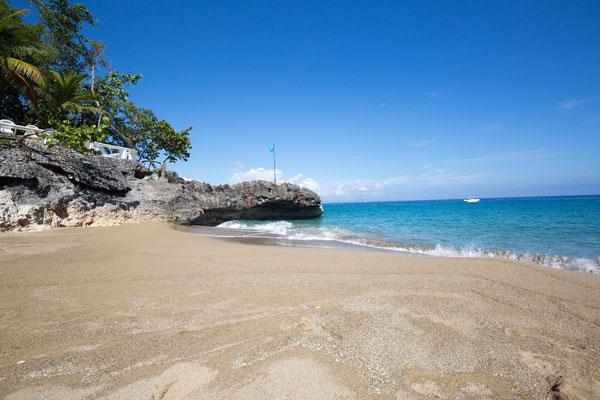 Strand im Hotel Dominikanische Republik, Sosua,