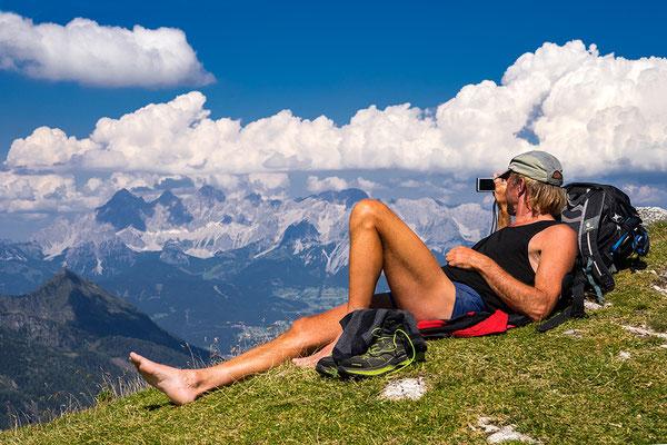 © Robert Mrkvicka, Steirische Kalkspitze mit Blick zum Dachstein