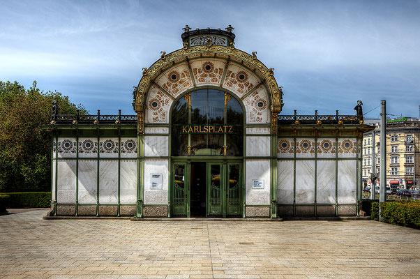 © Franz Svoboda, Wien, Stadtbahnstation Karlsplatz