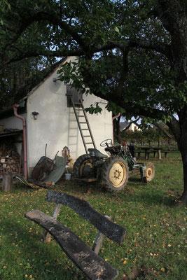 Lorenz Josef, Idylle mit Traktor
