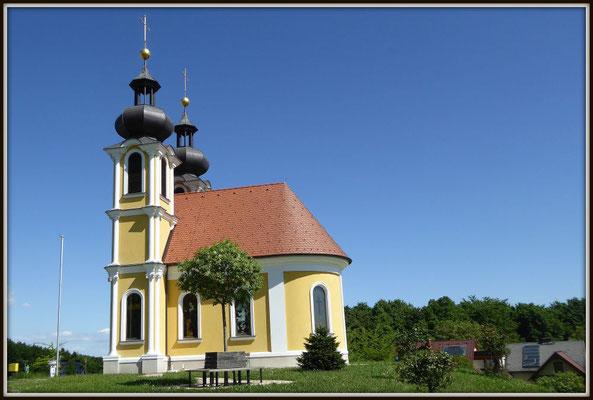 Karl Pabi - Kirche bei Unterlamm