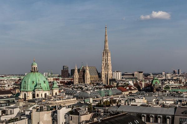 © Franz Svoboda, Wien, Blick vom Hochhaus Herrengasse