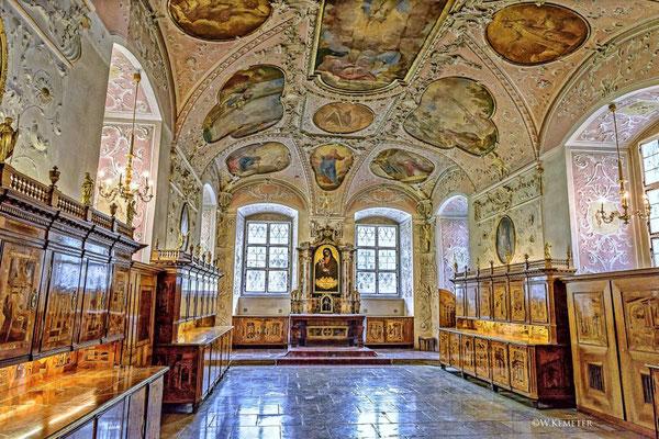 © Stift Heiligenkreuz / Werner Kemeter - Sakristei Heiligenkreuz im Wienerwald