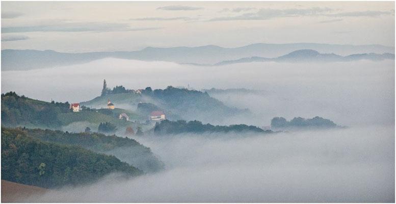 Wolfgang Hinz - Südsteirischer Nebel