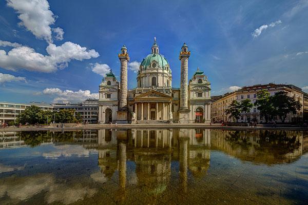 © Franz Svoboda, Wien, Karlskirche