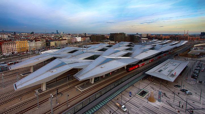 © Maria Bein, Wien, Hauptbahnhof