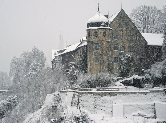 WIDMER Beda, Deuringschlößchen in Bregenz