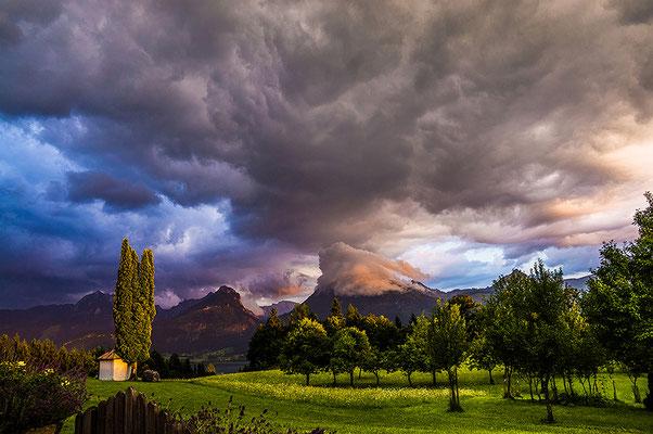 © Robert Mrkvicka, Wolken über dem Wolfgangsee