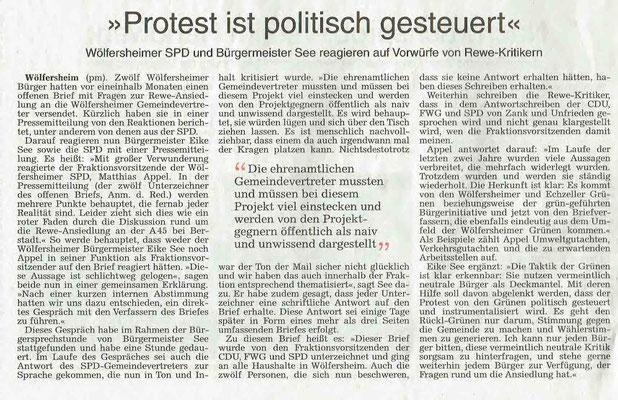 Wetterauer Zeitung, 4. April 2019