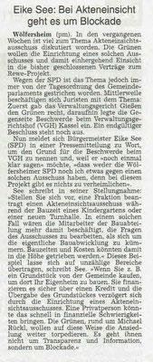 Wetterauer Zeitung, 2. April 2019