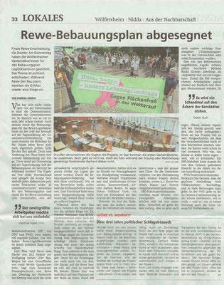 Wetterauer Zeitung vom 04.07.2020