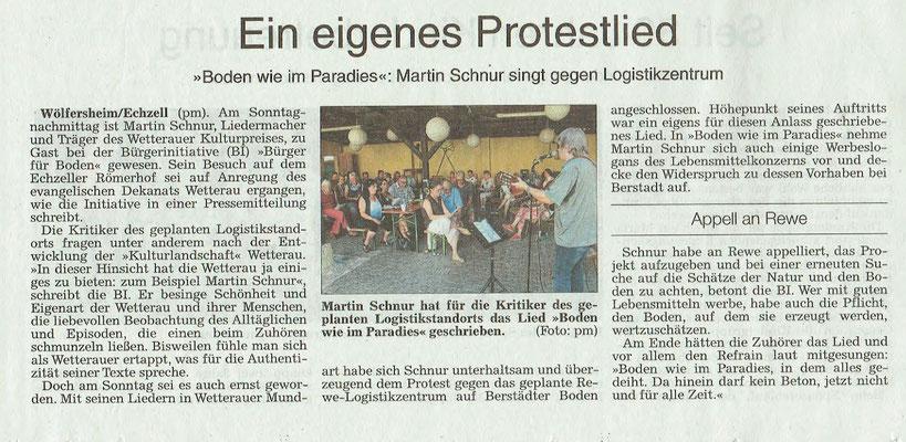 Wetterauer Zeitung, 23. August 2018