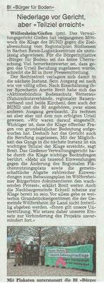 Wetterauer Zeitung vom 29. Januar 2019