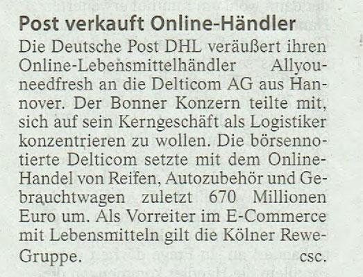 Wetterauer Zeitung, 27. September 2018