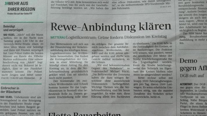 Frankfurter Rundschau, 28. August 2018