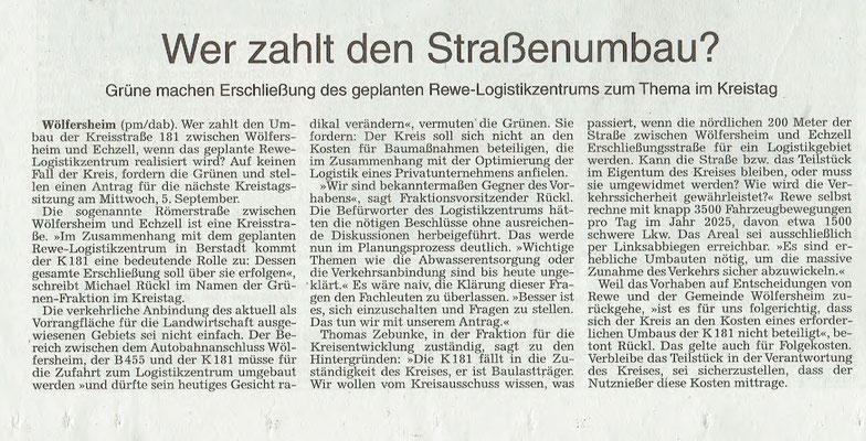 Frankfurter Rundschau, 29. August 2018