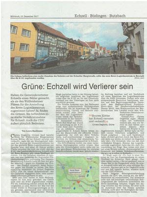 Wetterauer Zeitung, 13.12.2017