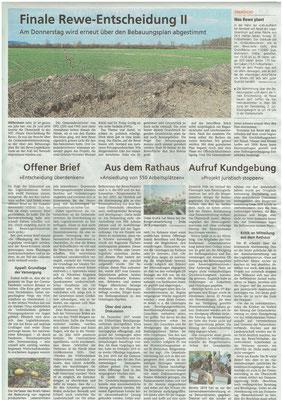 Wetterauer Zeitung vom 30.06.2020