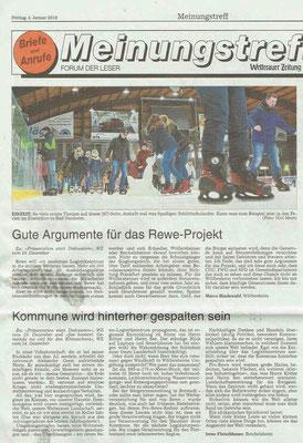 Wetterauer Zeitung vom 4. Januar 2019